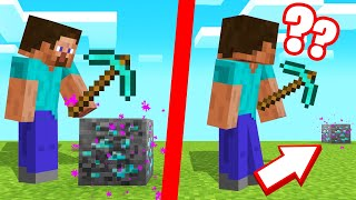 BREAK BLOCK = TELEPORT In MINECRAFT! (Annoying)