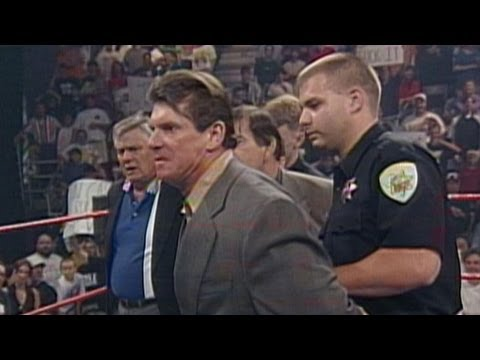Mr. McMahon winds up in the big house: Raw - May 25, 1998
