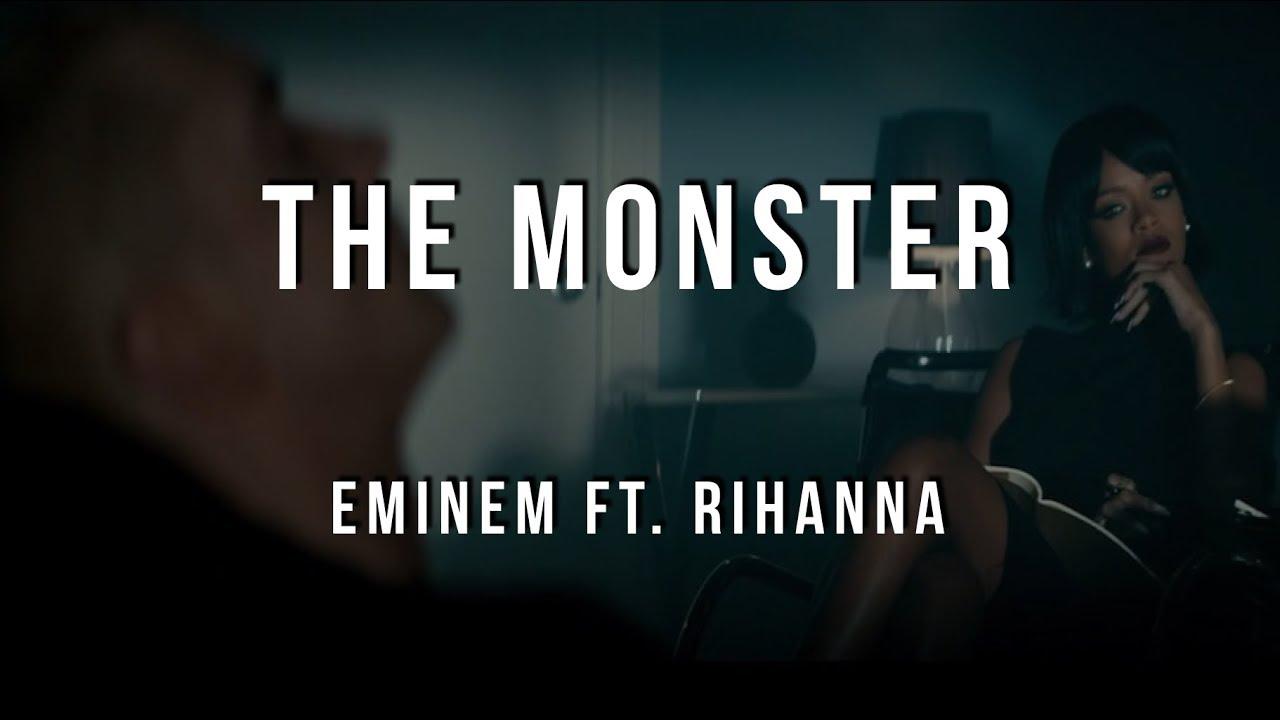 Lyrics of rihanna monster