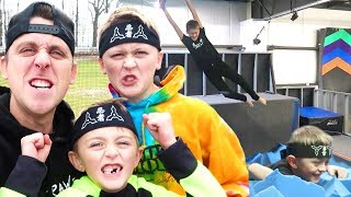 Training For Ninja Warrior!!