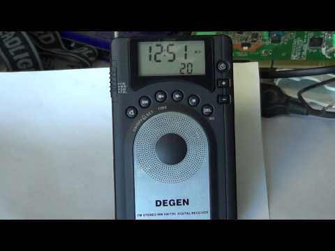 Degen DE 15 DSP radio review
