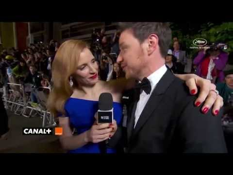 Cannes 2014 : Jessica Chastain interviewed by James McAvoy