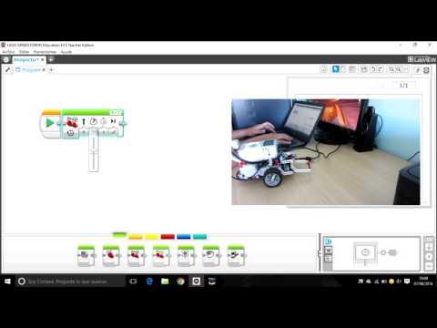 Lego Mindstorms Ev3: Mover El Robot Adelante Y Atrás.