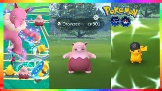 SHINY DROWZEE + SPECIAL PIKACHU - NEW PSYCHIC TYPE EVENT in Pokemon Go! BEST DROWZEE NESTS