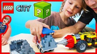 Lego City Mining Heavy Driller Drills MYSTERY BOX!