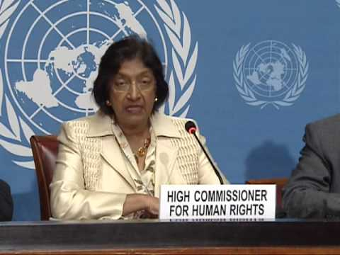 """A highly organized campaign of disinformation"" (Navi Pillay, UNHCHR)"