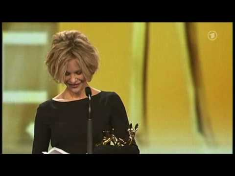 Meg Ryan bei der Bambi Verleihung 2008 / Meg Ryan at the Bambi Awards 2008