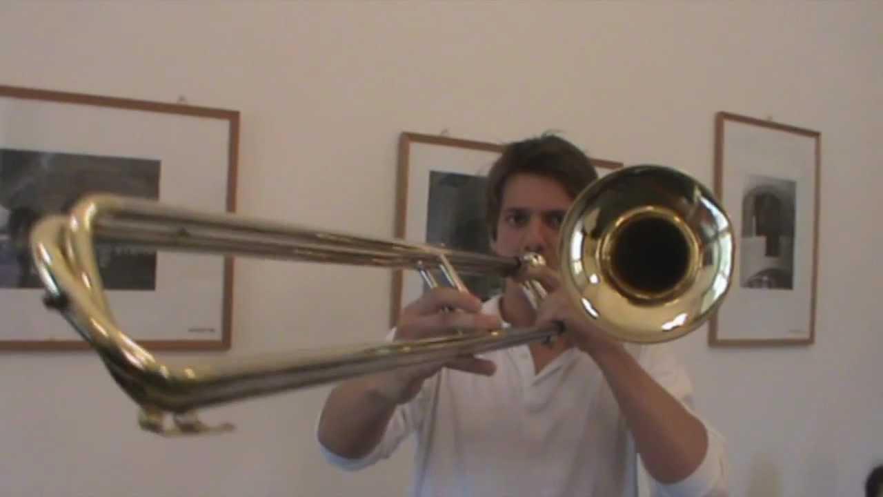 Contrabass Trombone in f Contrabass Trombone Testing
