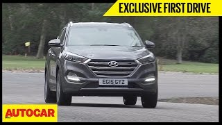 Hyundai Tucson   Exclusive First Drive   Autocar India