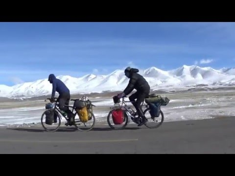 [Chine] Le Xinjiang a vélo - Désert du Taklamakan et montagnes Tian Shan
