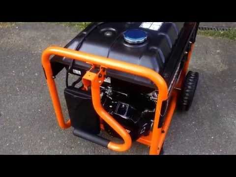 Generac gp5500 first video