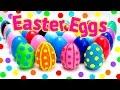 Easter Eggs Play Doh Eggs Huevos de Pascua Plastilina Surprise Eggs Toy Videos