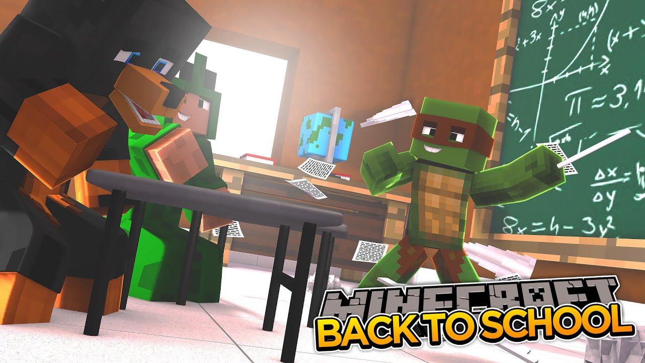 Minecraft School S2 - FIRST DAY BACK IN SCHOOL (1)