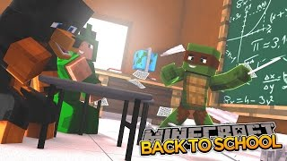 Minecraft School S2 - FIRST DAY BACK IN SCHOOL (1)
