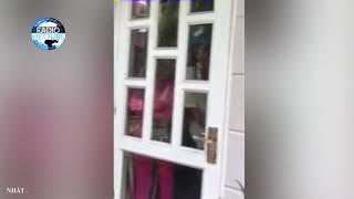 Xôn xao clip con trai bắt quả tang cha và chị dâu trong nhà nghỉ