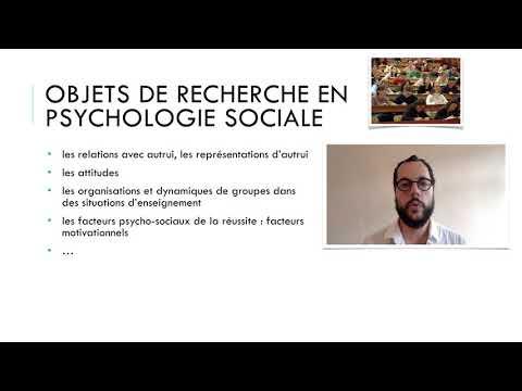 Recherches en psychologie sociale