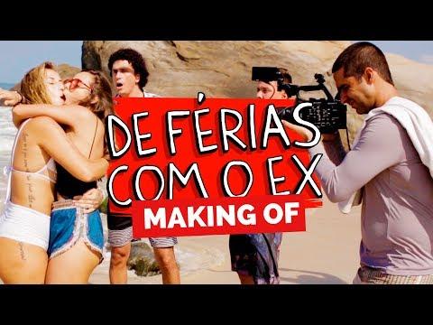MAKING OF - DE FÉRIAS COM O EX Vídeos de zueiras e brincadeiras: zuera, video clips, brincadeiras, pegadinhas, lançamentos, vídeos, sustos