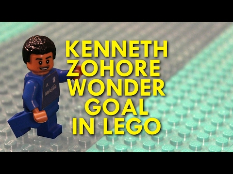 KENNETH ZOHORE WONDER GOAL V PRESTON IN LEGO