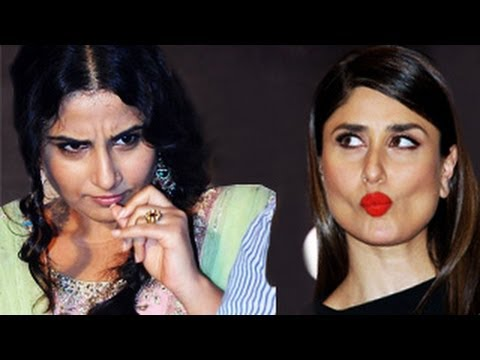 Kareena Kapoor Insults Vidya Balan -- Watch Now! video