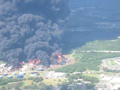 Puerto Rico Gas Plant Explosion October 2009