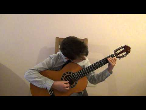 Emilio Pujol Study 25. Stanislav Polimashev