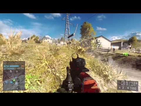 Battlefield 4 - Live Commentary - Rush - Golmud Railway (BF4 Online Multiplayer Gameplay)