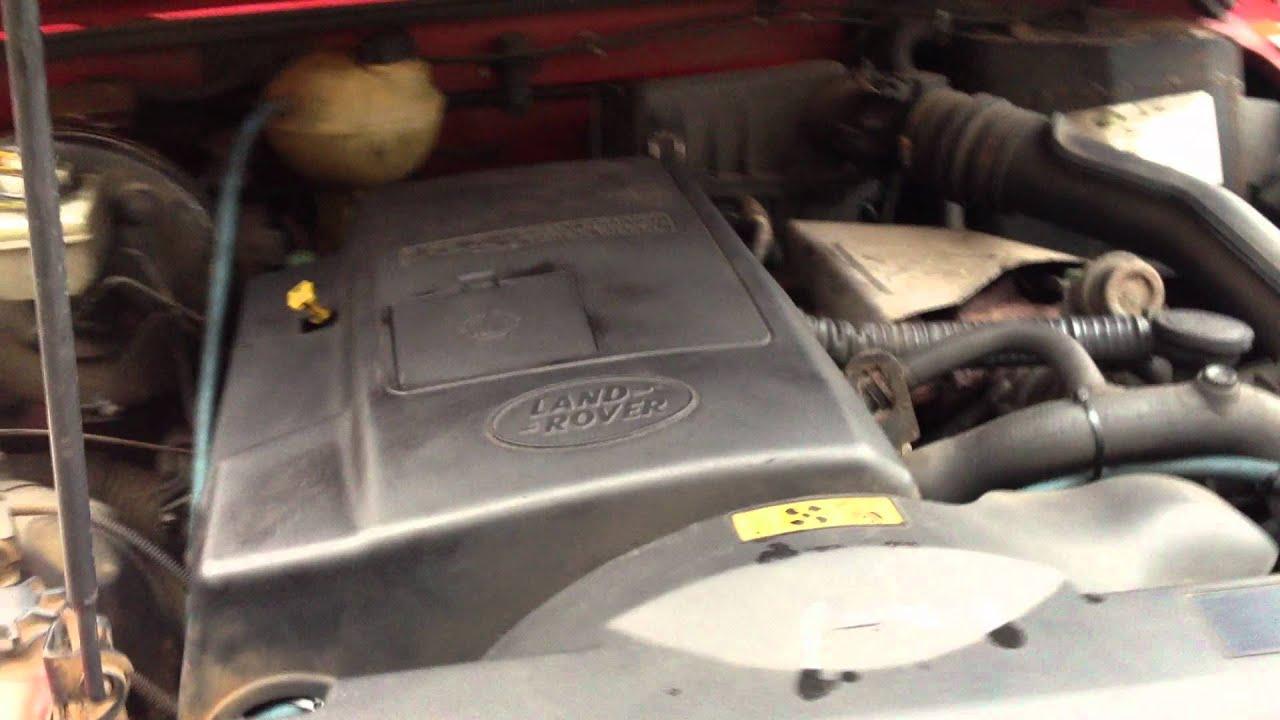 Land Rover Defender 110 90 Td5 Complete Engine Working