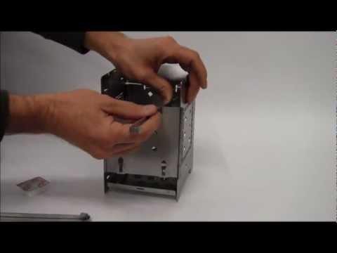 Folding Firebox Camp Stove Instructional Video