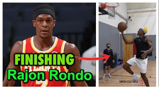 Lakers Rajon Rondo *INSANE* passing NBA workout