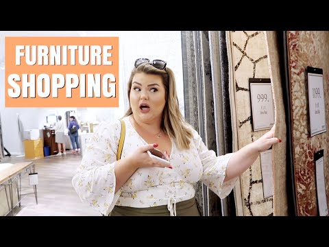 APARTMENT MAKEOVER SERIES | FURNITURE SHOPPING