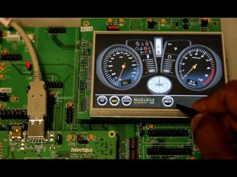 Automotive dashboard application