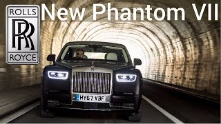 2018 Rolls-Royce New Phantom VIII - The most silent car in the world