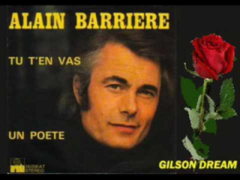 Tu t'en vas - Alain Barrière, Noelle Cordier - with …