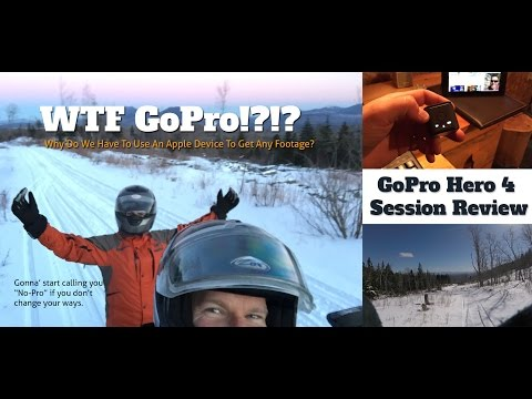 GoPro Hero 4 Session Review - Don't buy for cold weather skiing or snowmobiling