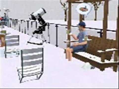 the sims 2 seasons: penguins like cake Video
