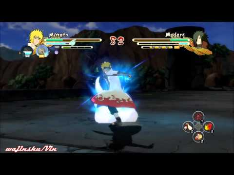 Naruto Ultimate Ninja Storm 3 Minato Vs Madara video
