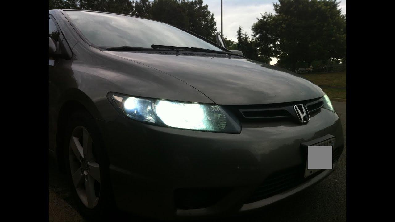 A custom car story: 2008 Honda Civic Coupe EX, lightly ...