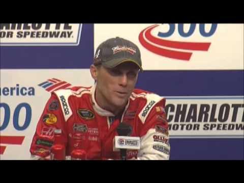 Kevin Harvick Charlotte Winner NASCAR Video News Conference