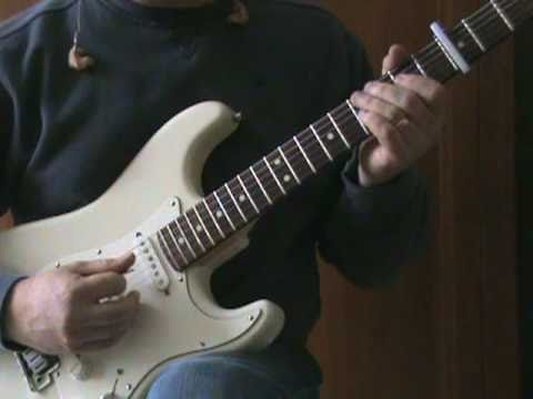 Jet Airliner/Steve Miller Band (tutorial) - cover by Tonedr