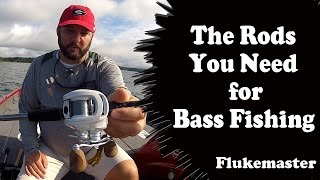 The Complete Bass Fishing Rod Lineup