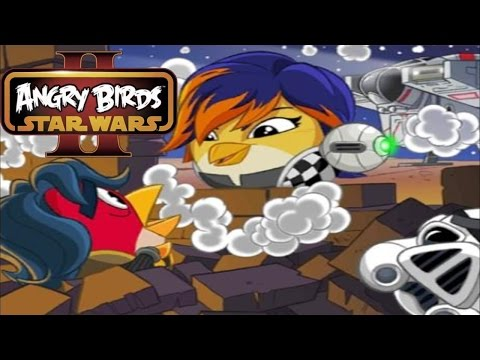 Angry Birds Star Wars 2 - Rebels Birds Side - Levels BE-1 to BE-5 - 3 stars