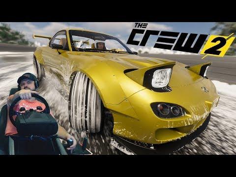 ЭКСТРЕМАЛЬНЫЙ чемпионат! The Crew 2 на руле Fanatec ClubSport V2.5