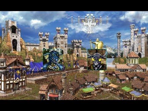#313. Armag (Замок, Стиг) vs ValWin (Замок, Димер). Mir_Skirmish m200 часть 1