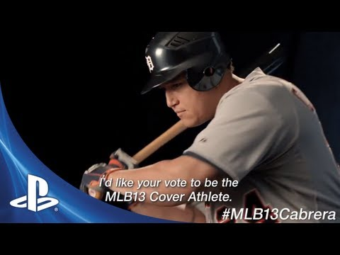 "MLB 13 Cover Showdown | Miguel Cabrera ""Just Saying"""
