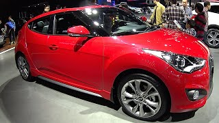 2016, 2017 Hyundai Veloster turbo GDI review