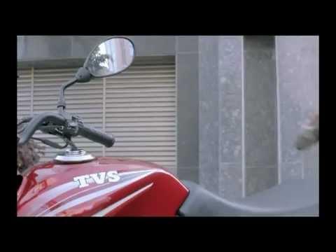 Virat Kohli in TVS Sport Bike Advt