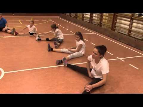 Trening Mini Siatkówka Klas 4-6 Cz. III 21.10.2015