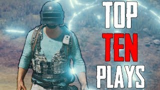 PUBG Top 10 Plays | Insane Game Ending Moments!