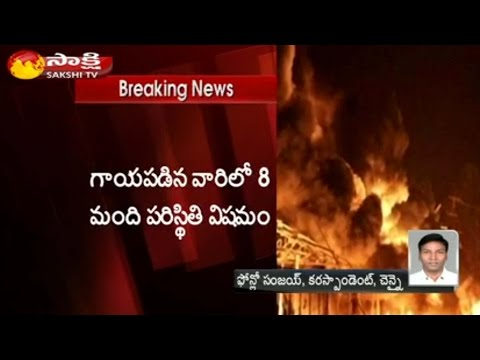Major Fire Accident at Firework Shop in Sivakasi: 6 Died || 10 Injured - Watch Exclusive