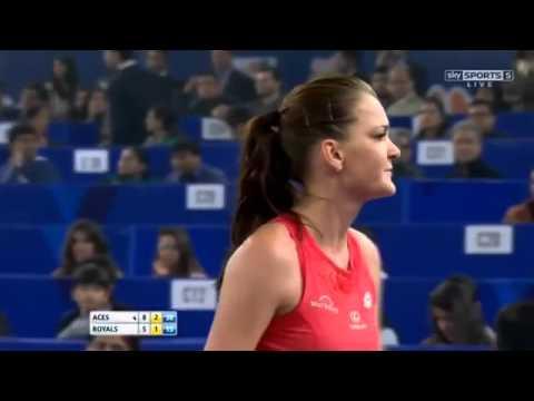Agnieszka Radwanska vs Kristina Mladenovic FULL MATCH HD IPTL New Delhi 2015